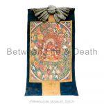 Thangka scroll painting, or similar, (Tibet)