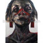 """Painting, William Stoehr """"Laine 5"""""""
